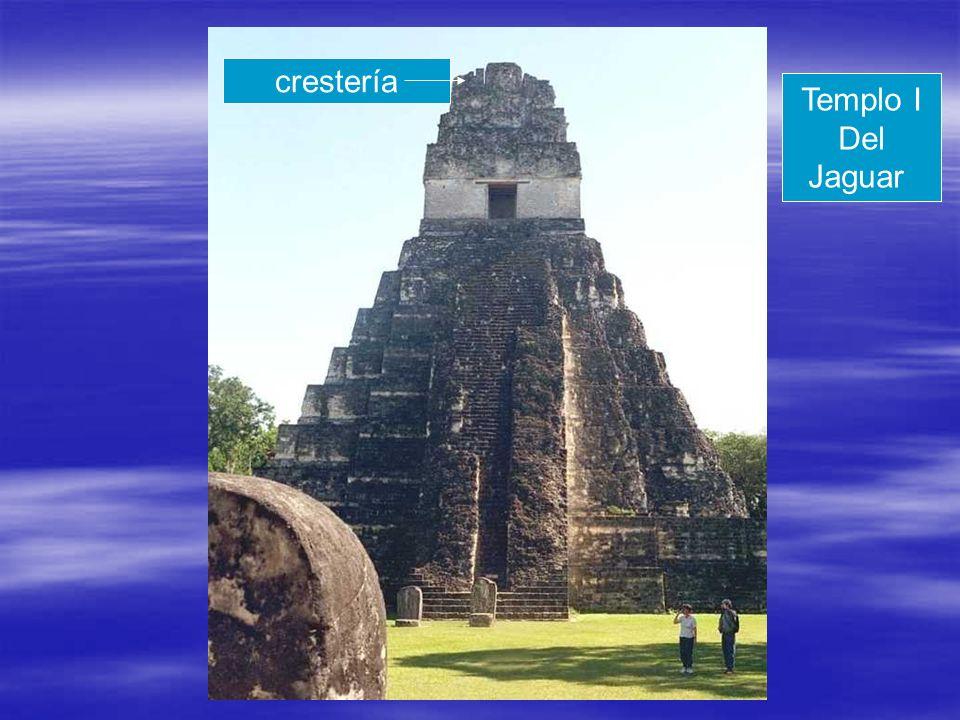 crestería Templo I Del Jaguar