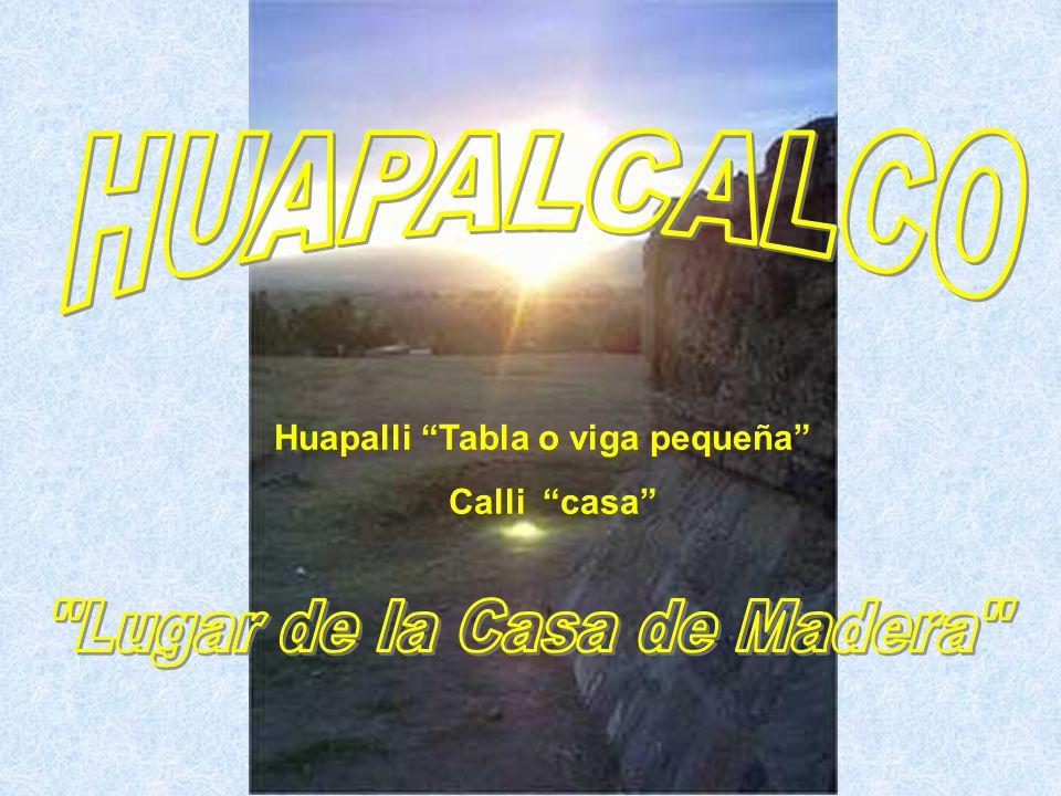 Huapalli Tabla o viga pequeña