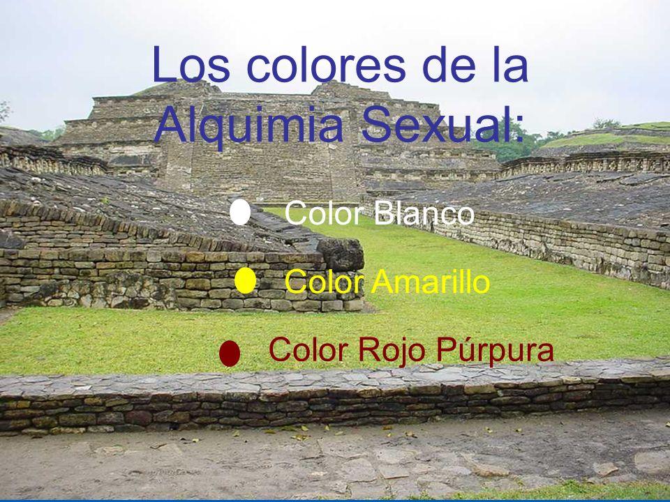 Los colores de la Alquimia Sexual: