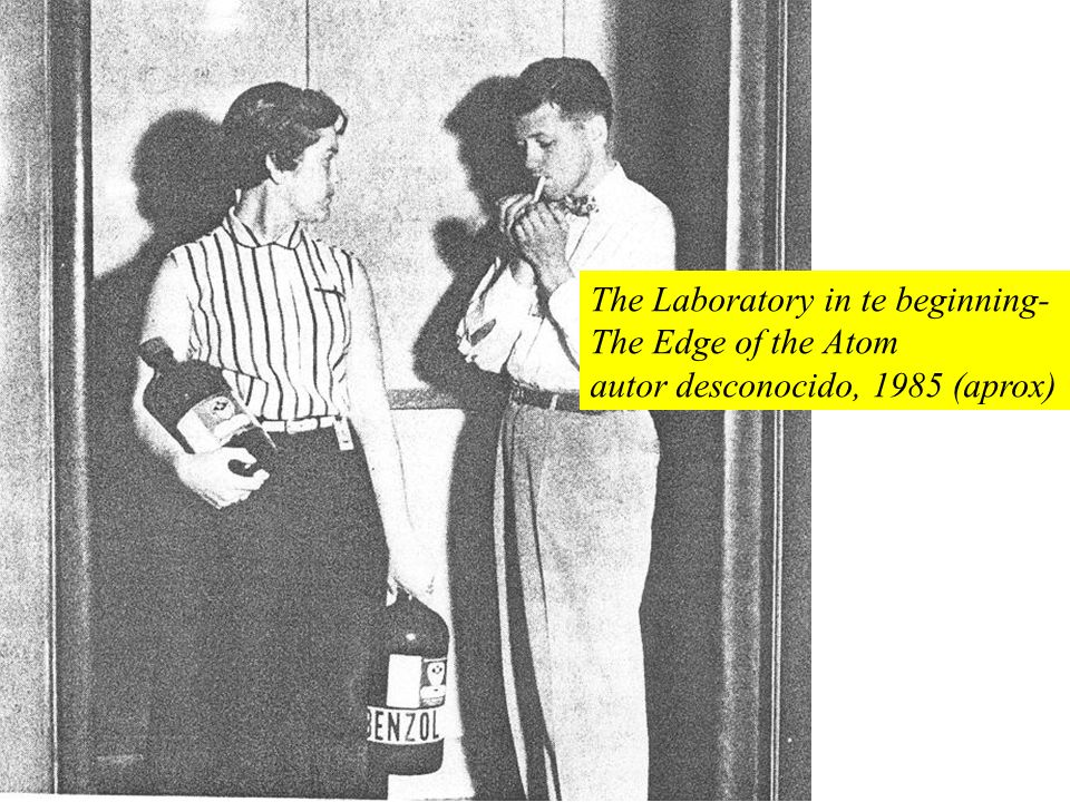 The Laboratory in te beginning-