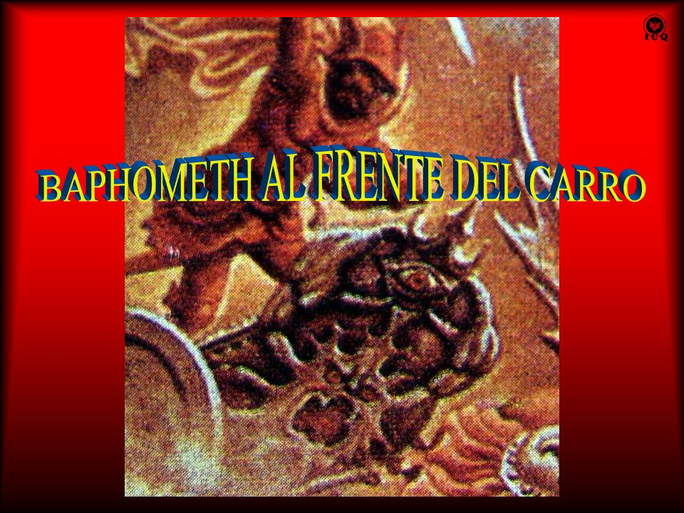 BAPHOMETH AL FRENTE DEL CARRO
