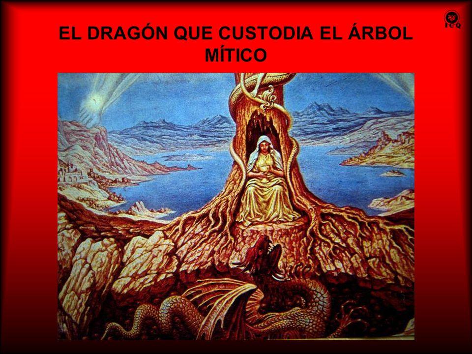 EL DRAGÓN QUE CUSTODIA EL ÁRBOL MÍTICO