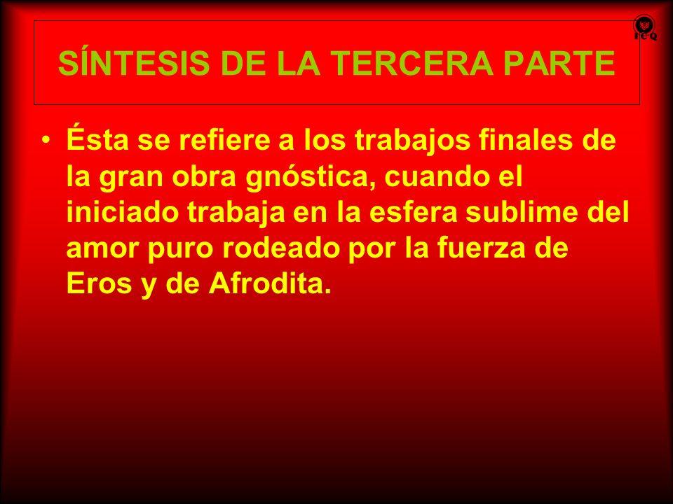 SÍNTESIS DE LA TERCERA PARTE