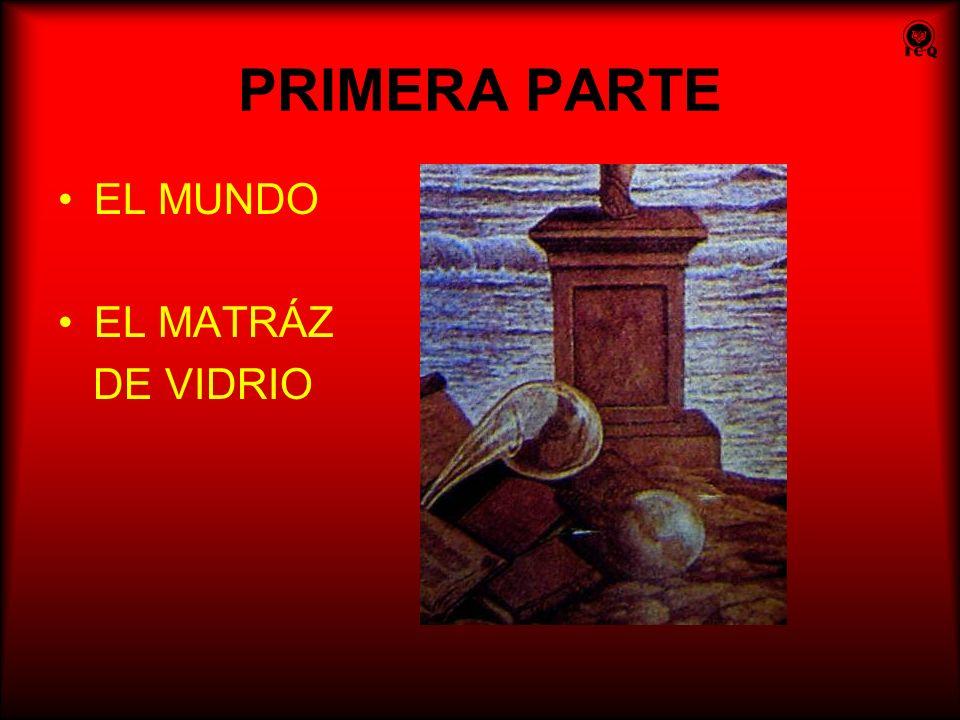 PRIMERA PARTE EL MUNDO EL MATRÁZ DE VIDRIO
