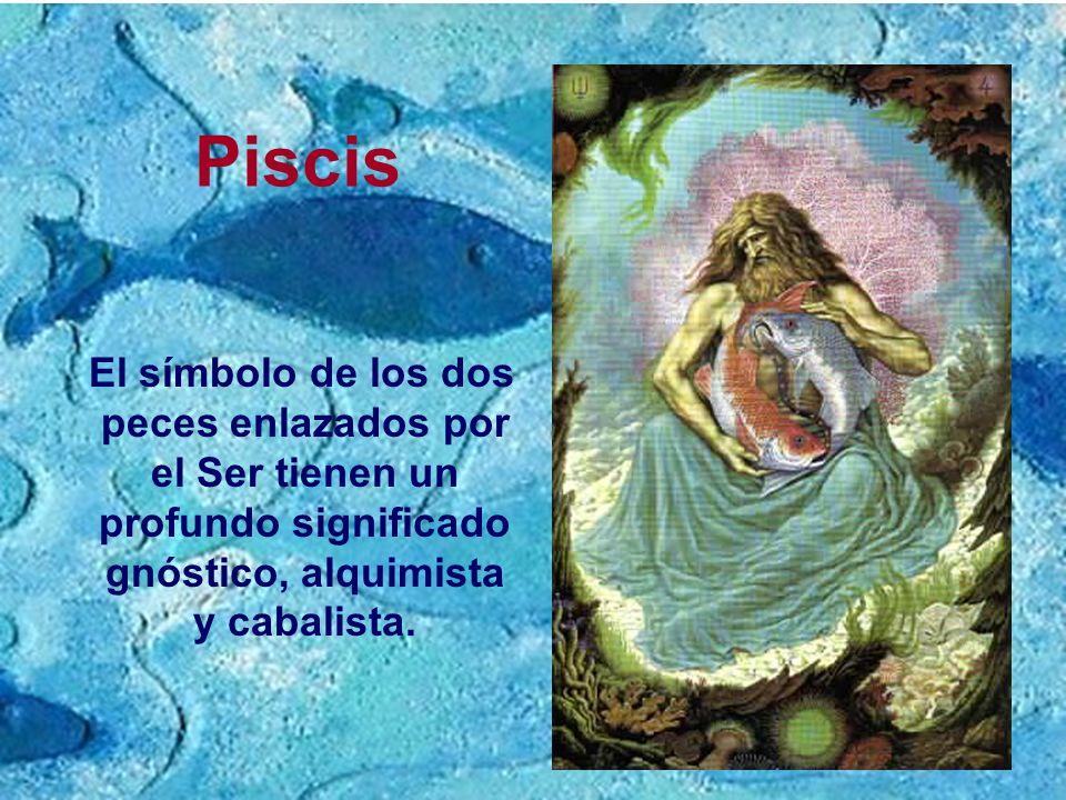 PiscisEl símbolo de los dos peces enlazados por el Ser tienen un profundo significado gnóstico, alquimista y cabalista.