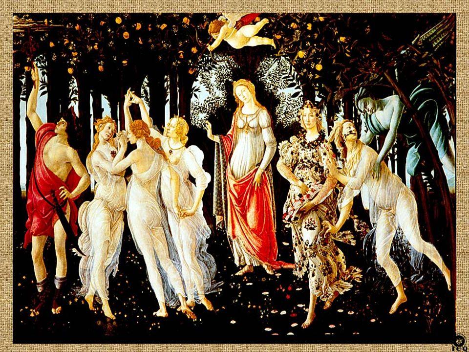 Cupido Mercurio Céfiro Venus Talía: Eufrosine: Áglae: Flora Cloris Pulcritud Voluntad Castidad
