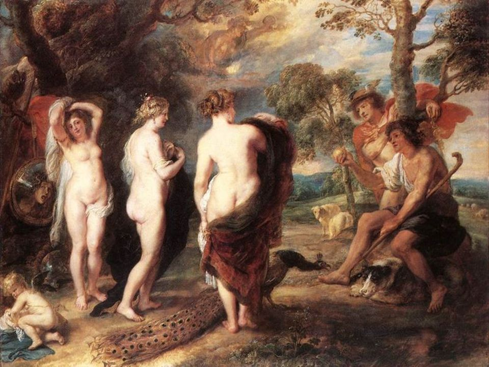 Hermes Mercurio Atenea Paris Hera Afrodita Cupido