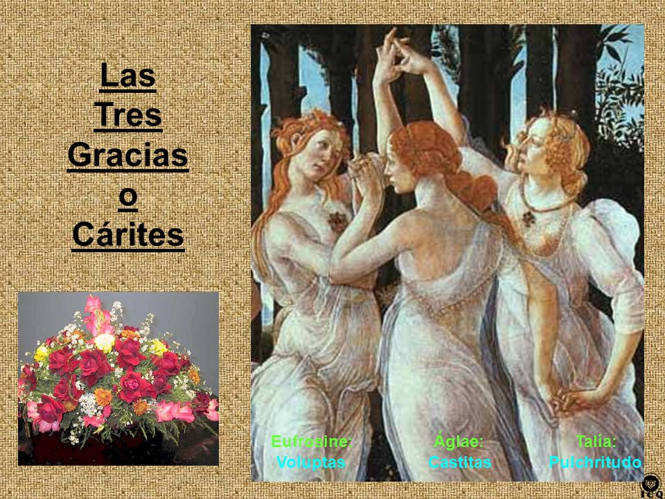 Las Tres Gracias o Cárites