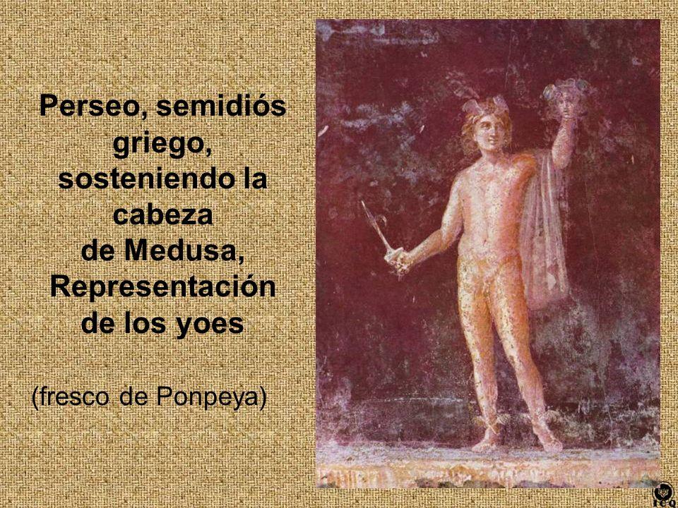 Perseo, semidiós griego, Representación de los yoes