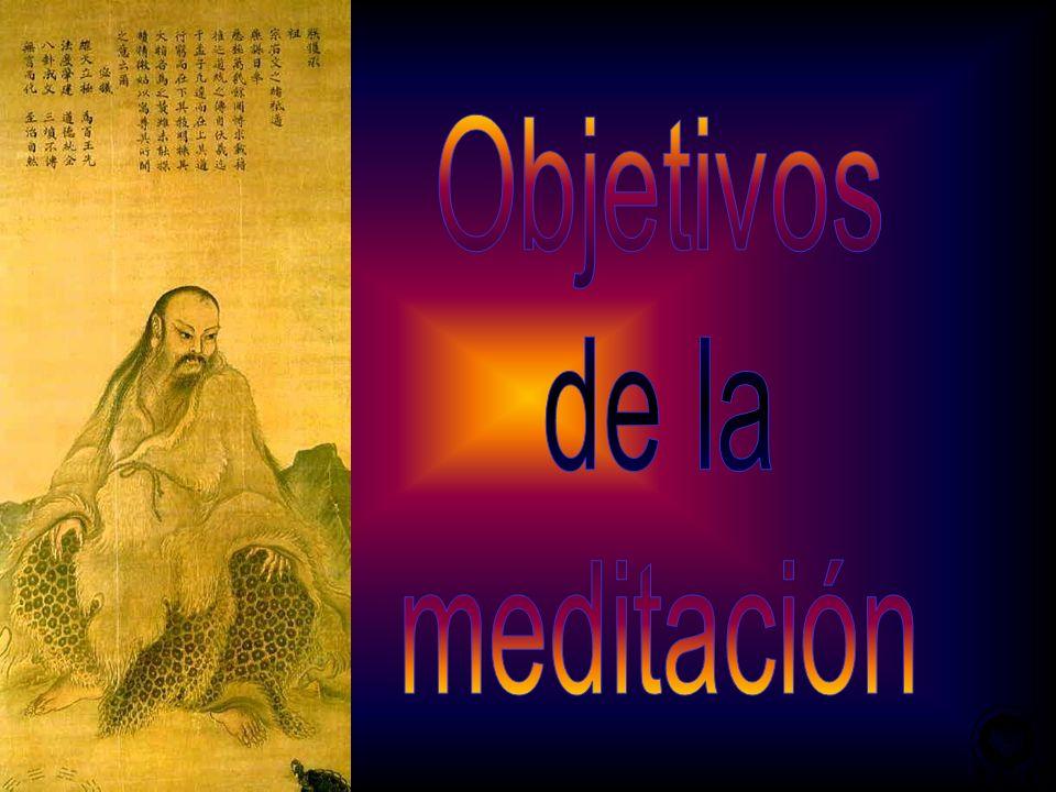 Objetivos de la meditación