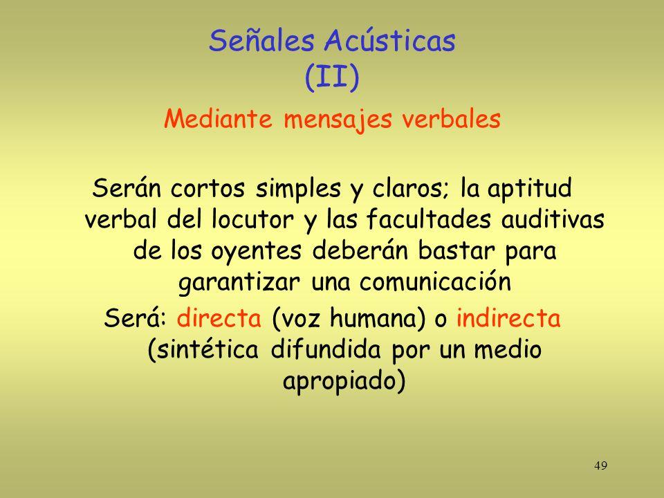 Señales Acústicas (II)