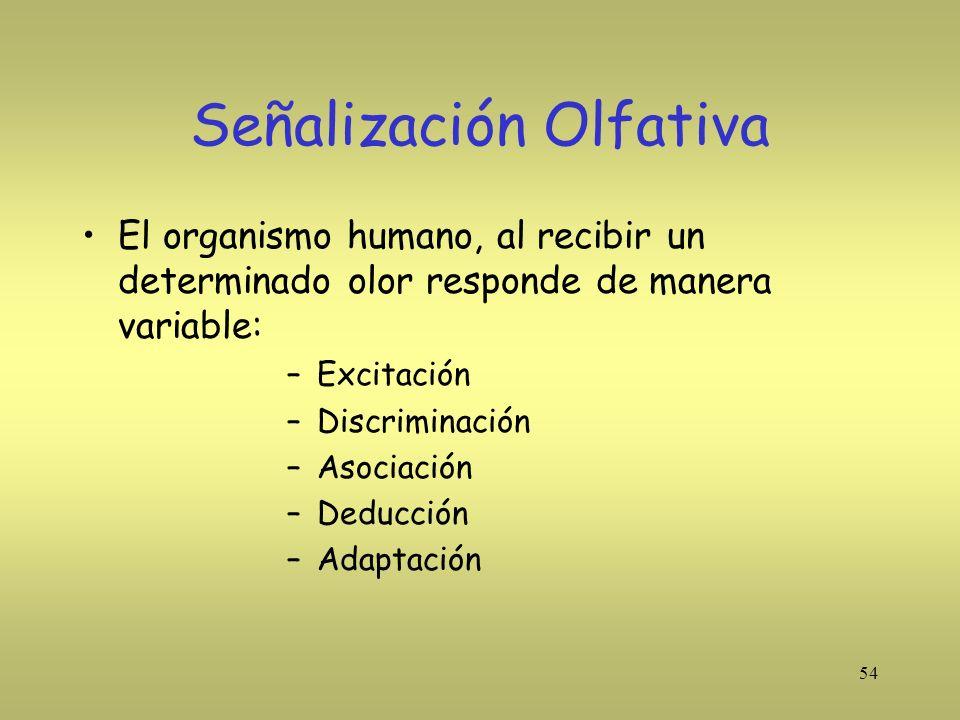 Señalización Olfativa