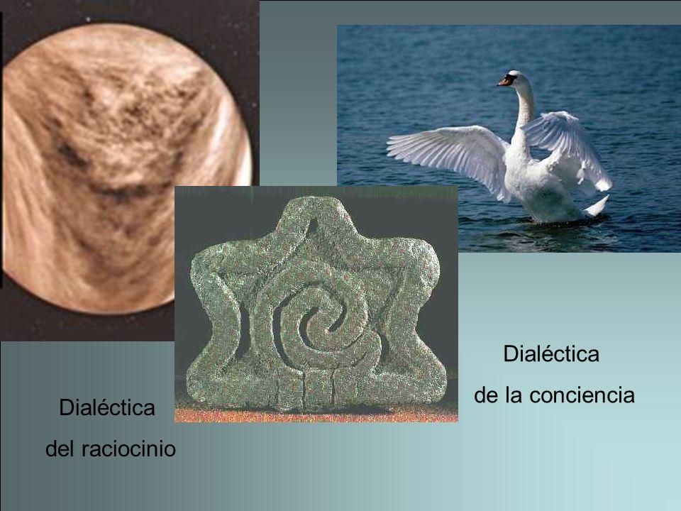 Dialéctica de la conciencia Dialéctica del raciocinio
