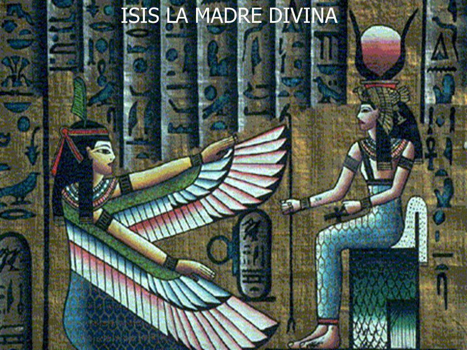 ISIS LA MADRE DIVINA