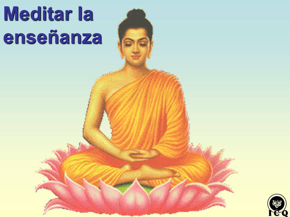 Meditar la enseñanza La Comprensión de Fondo y en todos los Niveles de la Mente, sólo es posible mediante la Meditación Introspectiva Profunda.