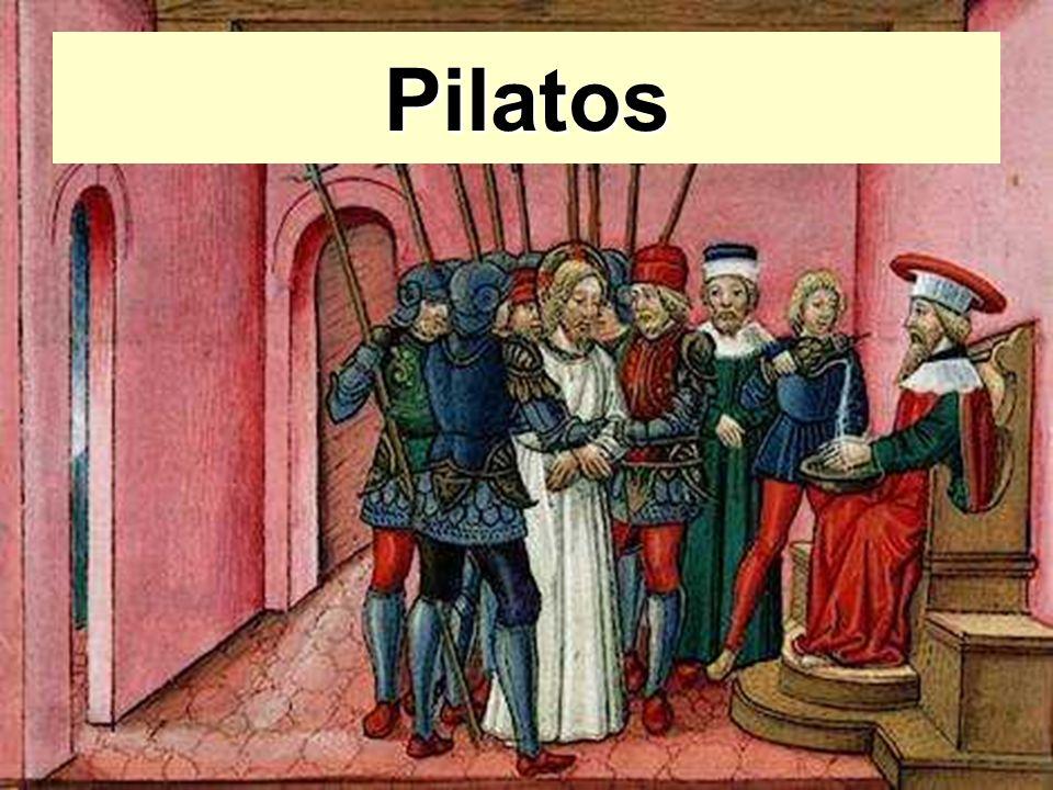 Pilatos En tratándose de comprender fundamentalmente cualquier Defecto de Tipo Psicológico, debemos sincerarnos con nosotros mismos...