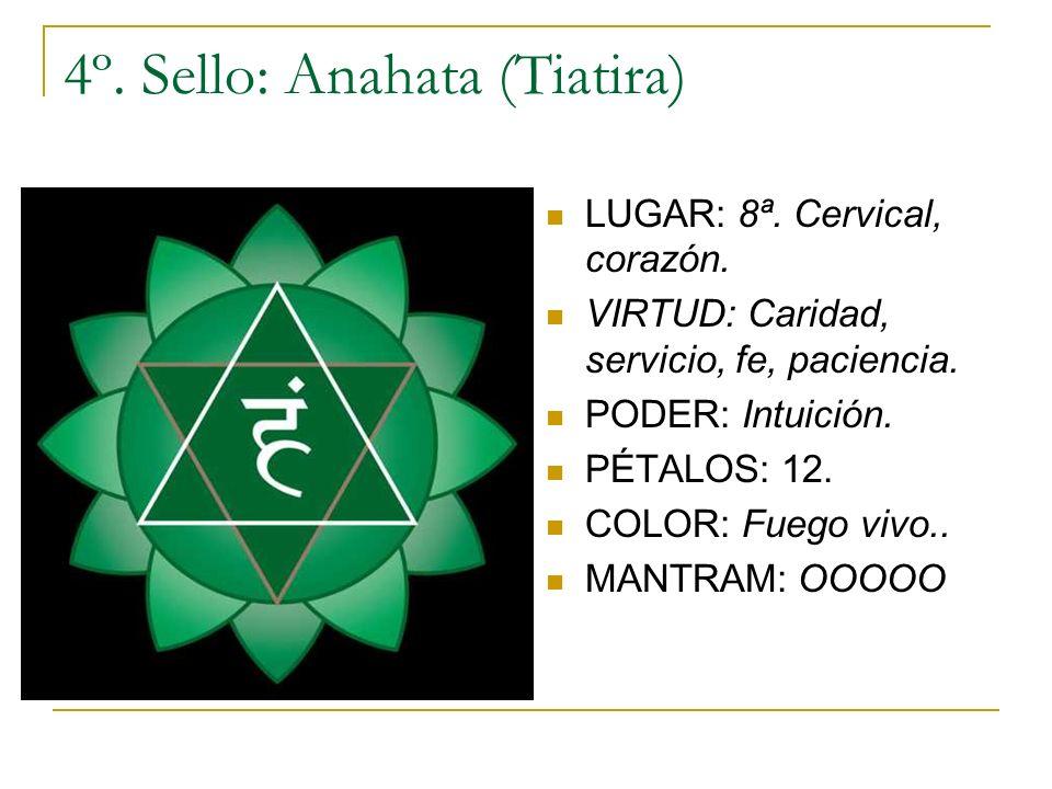 4º. Sello: Anahata (Tiatira)
