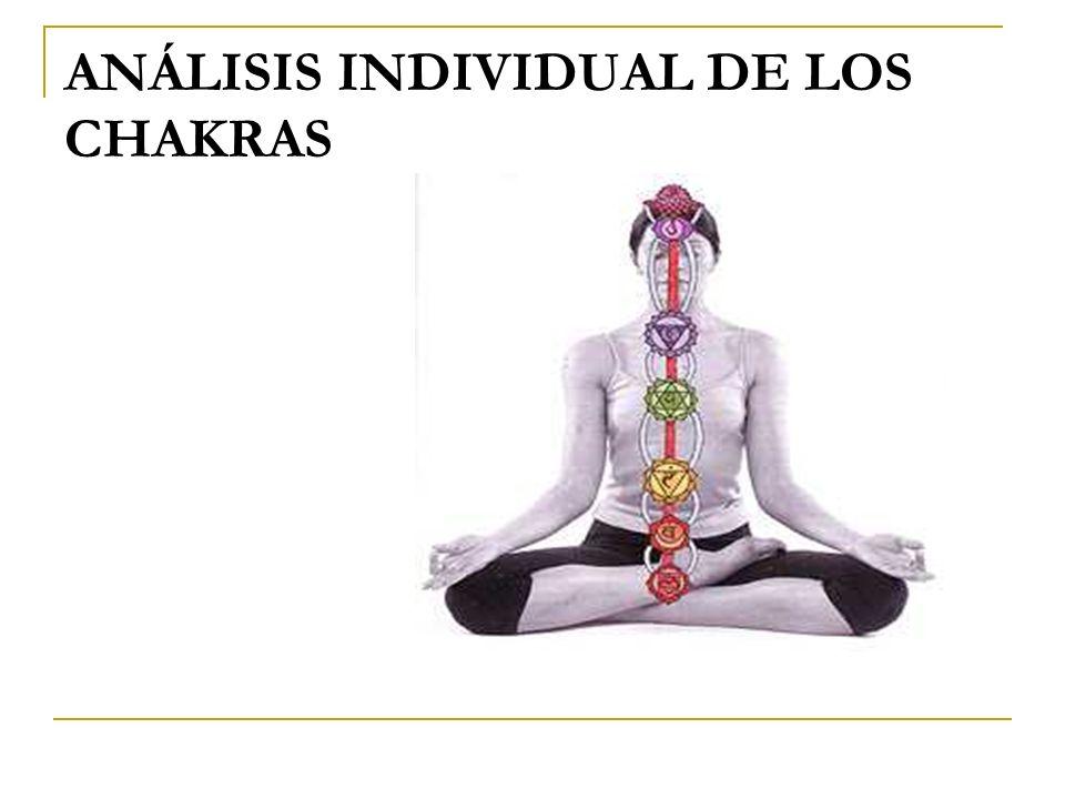 ANÁLISIS INDIVIDUAL DE LOS CHAKRAS