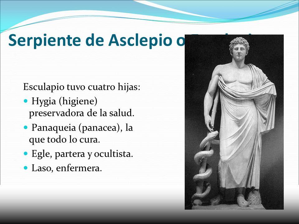 Serpiente de Asclepio o Esculapio