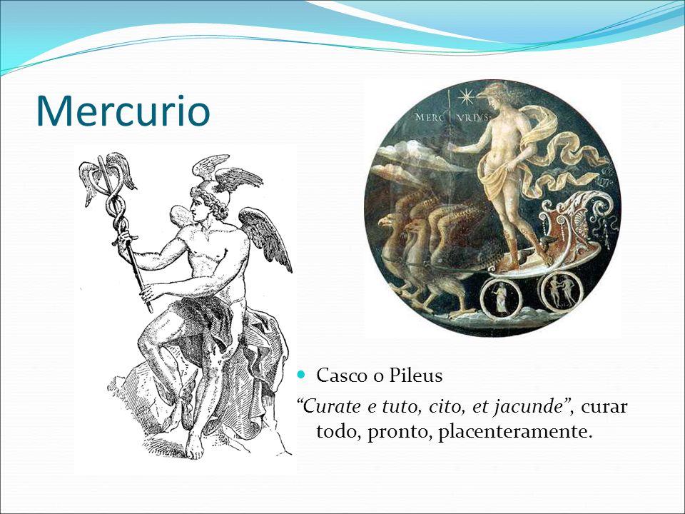 Mercurio Casco o Pileus