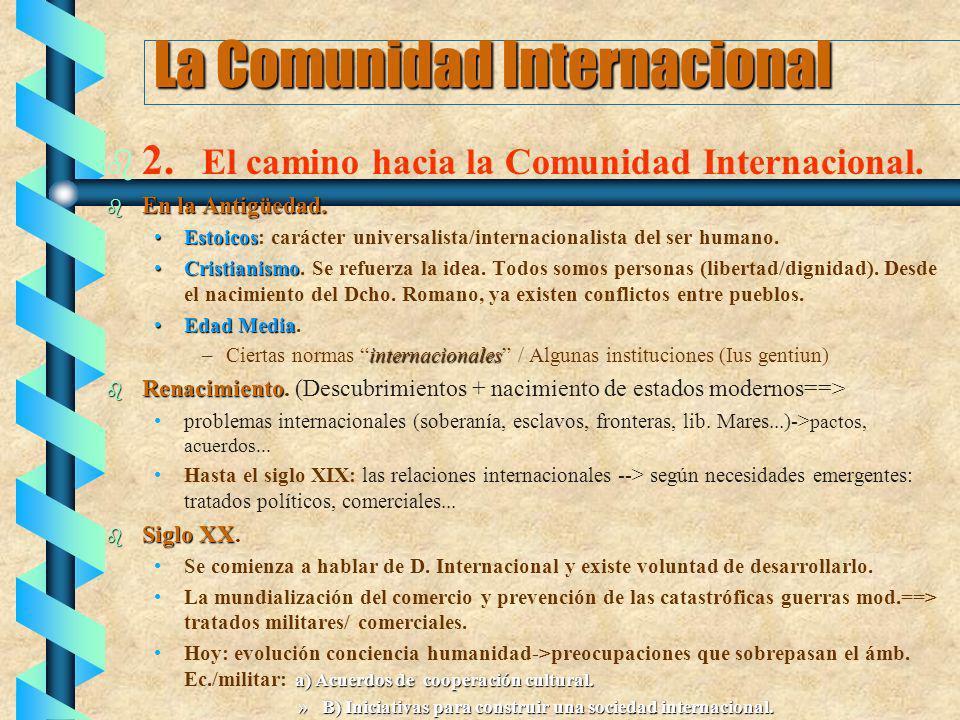La Comunidad Internacional