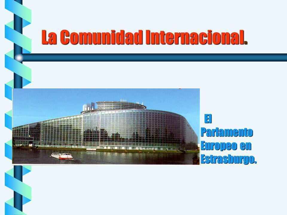 La Comunidad Internacional.