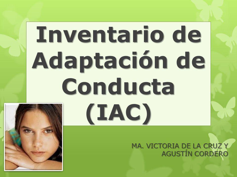 Inventario de Adaptación de Conducta (IAC)