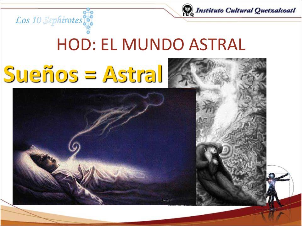 HOD: EL MUNDO ASTRAL Sueños = Astral