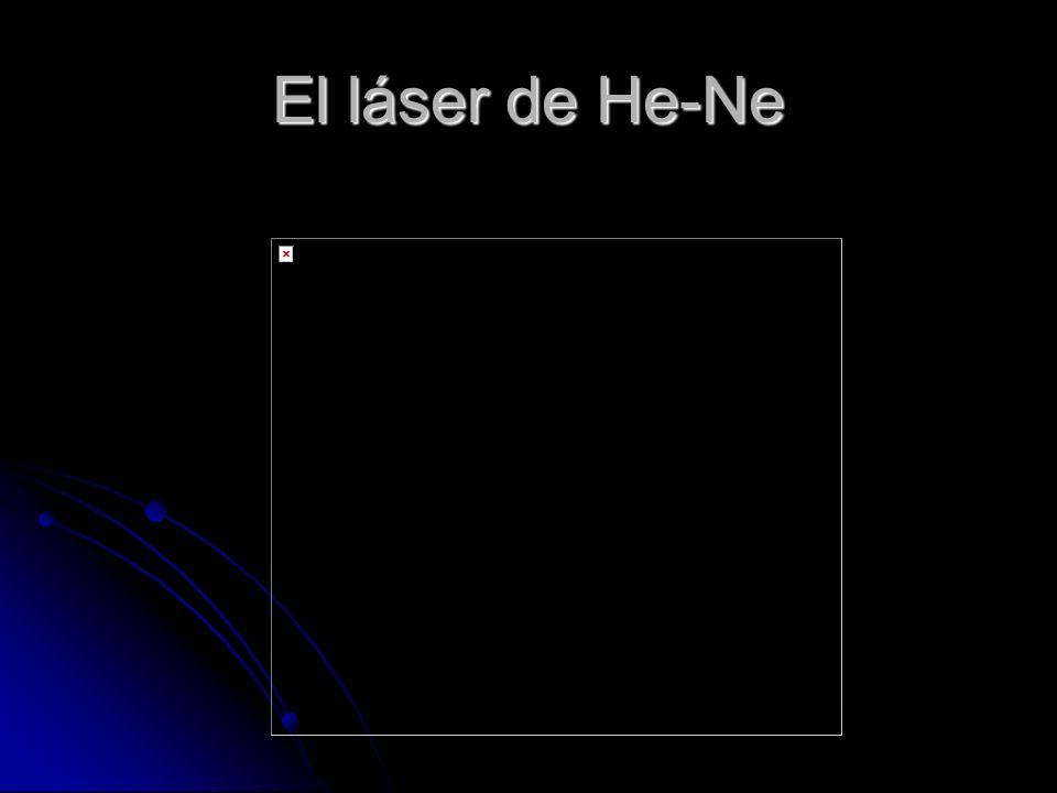 El láser de He-Ne