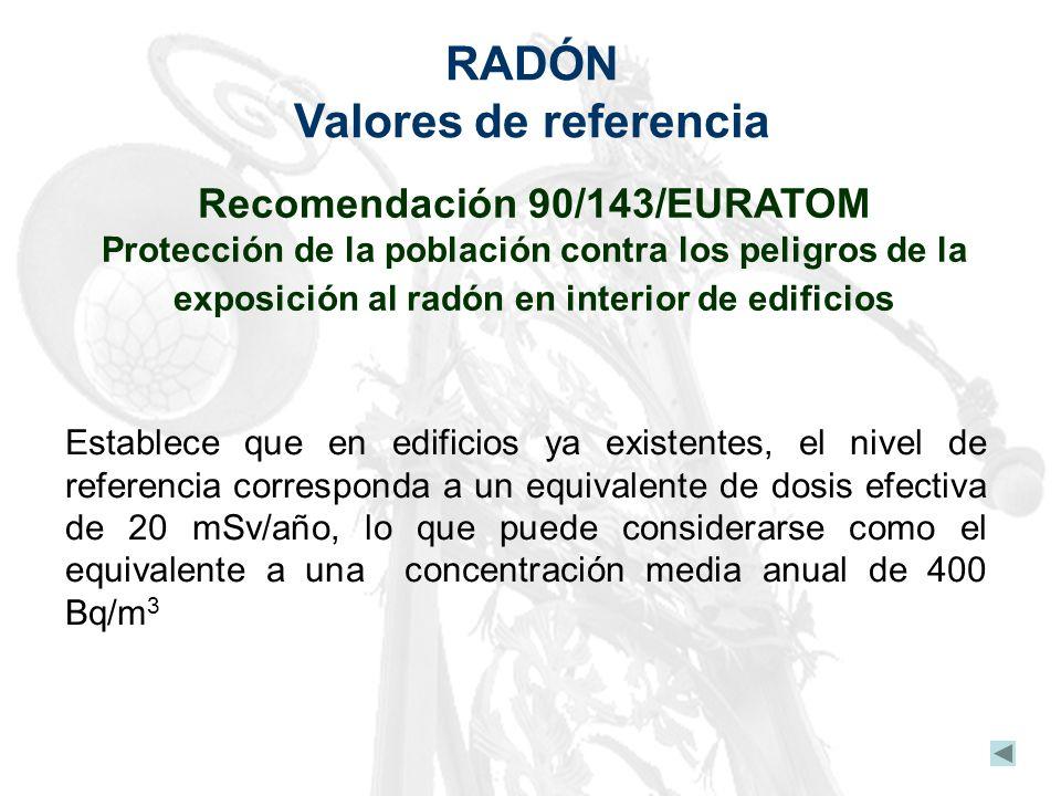 Recomendación 90/143/EURATOM