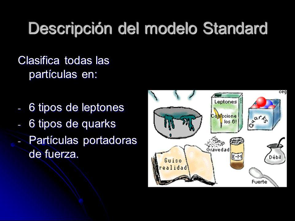 Descripción del modelo Standard