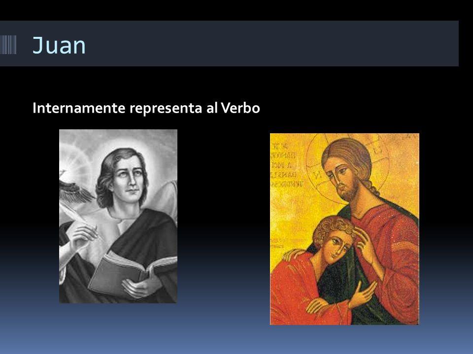 Juan Internamente representa al Verbo