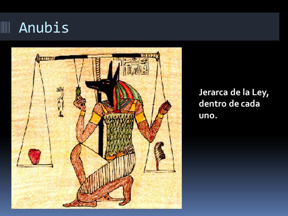 Anubis Jerarca de la Ley, dentro de cada uno.