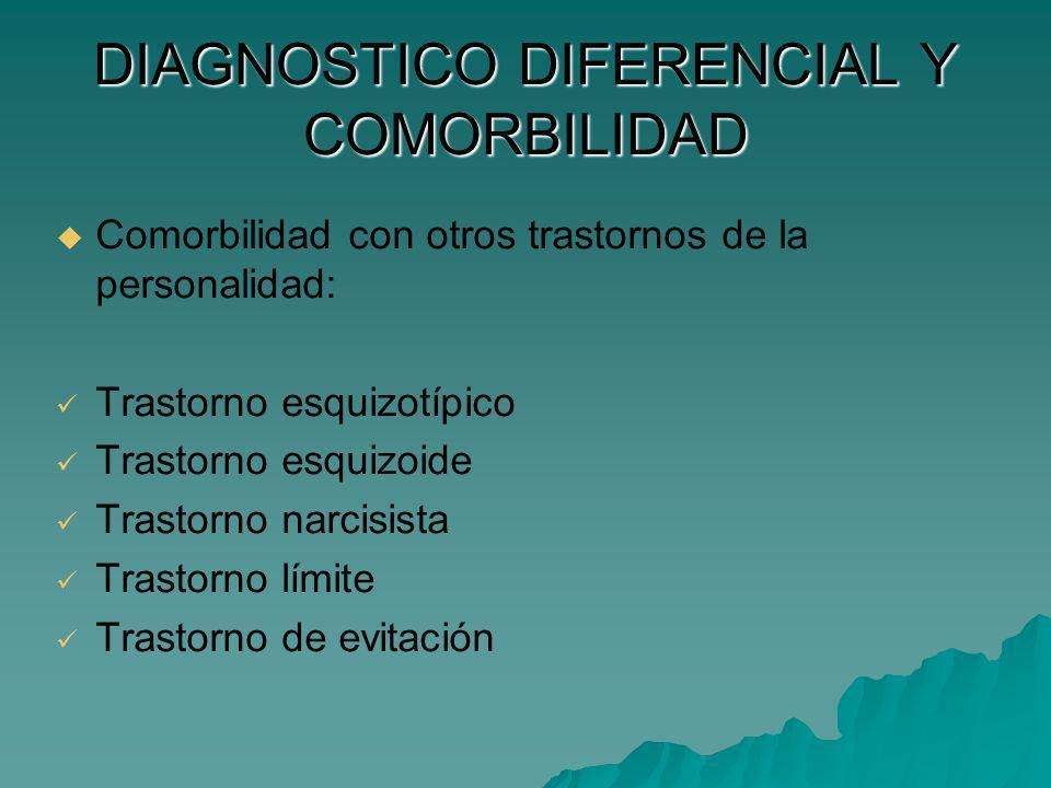 DIAGNOSTICO DIFERENCIAL Y COMORBILIDAD