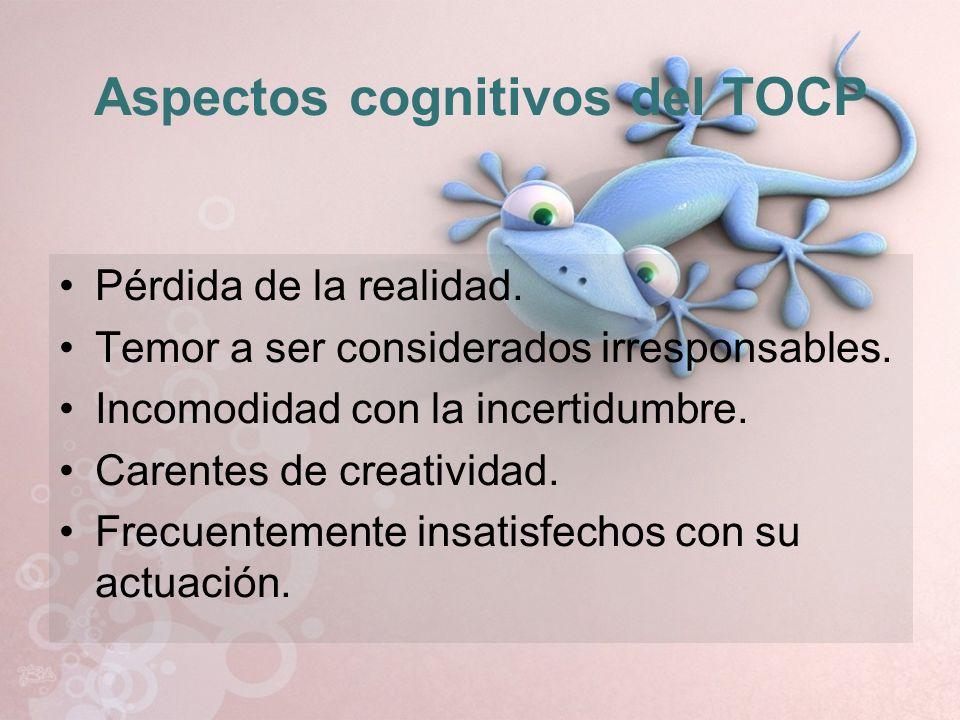 Aspectos cognitivos del TOCP