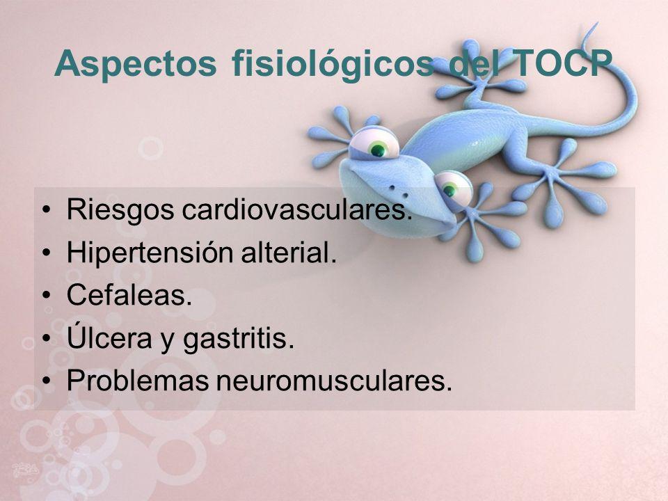 Aspectos fisiológicos del TOCP