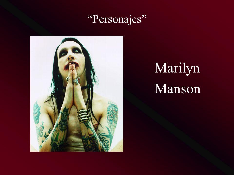 Personajes Marilyn Manson