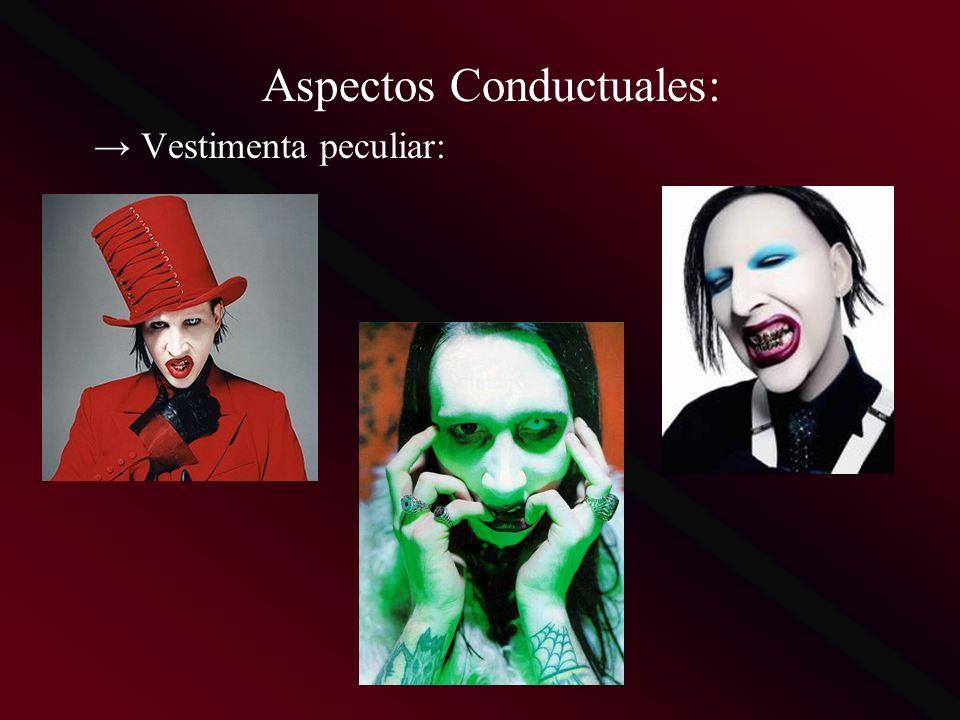 Aspectos Conductuales: