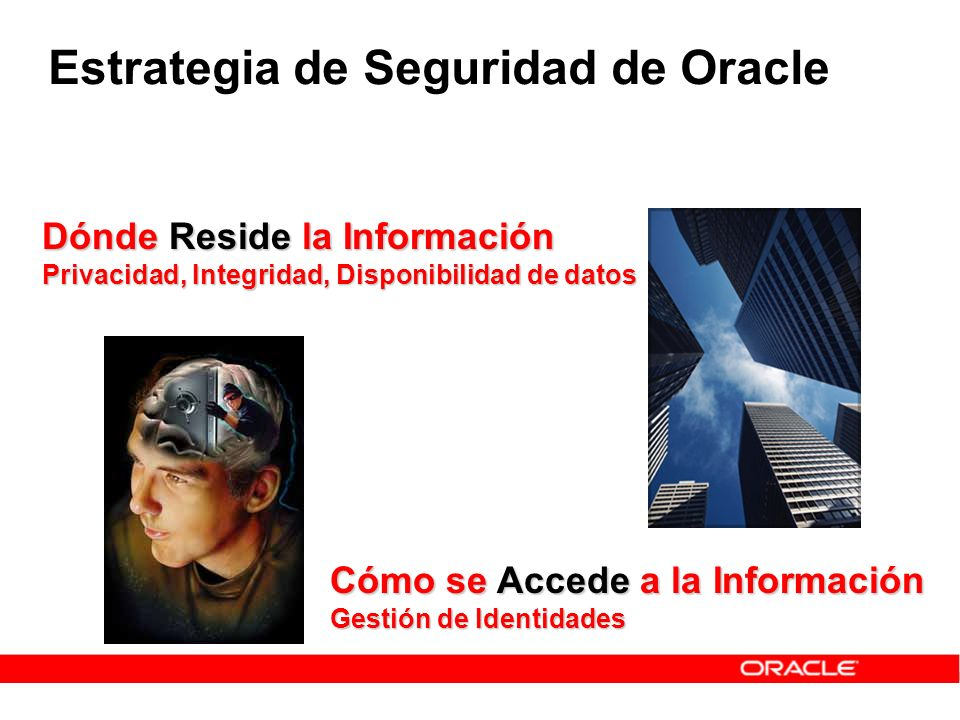 Estrategia de Seguridad de Oracle
