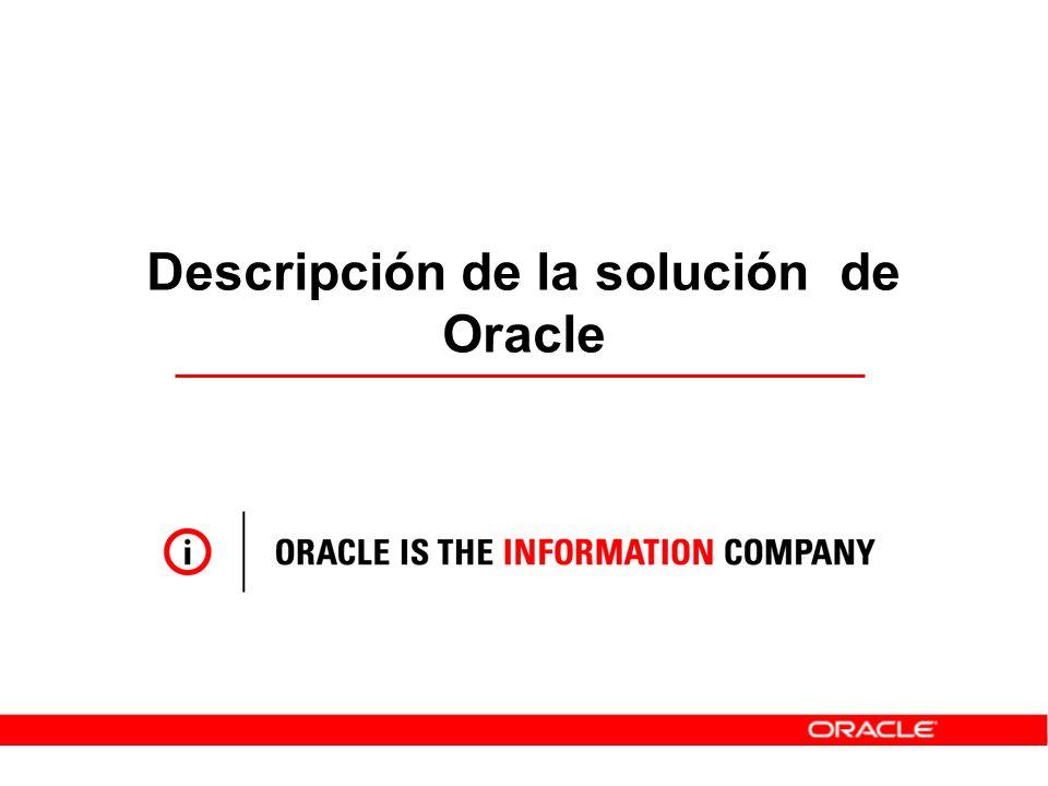 Descripción de la solución de Oracle