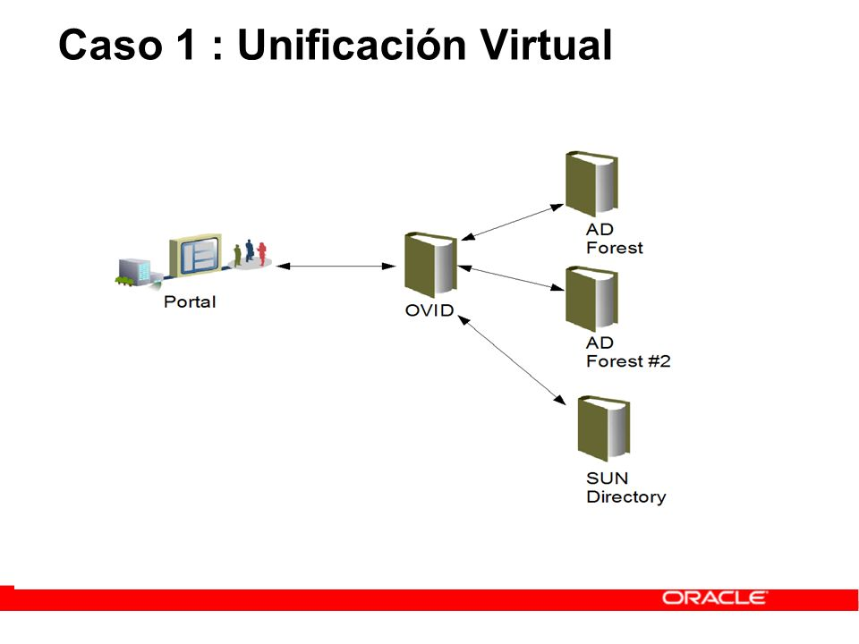 Caso 1 : Unificación Virtual