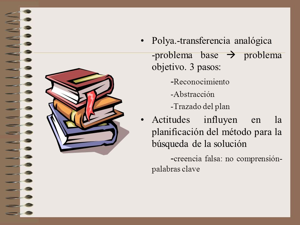 Polya.-transferencia analógica