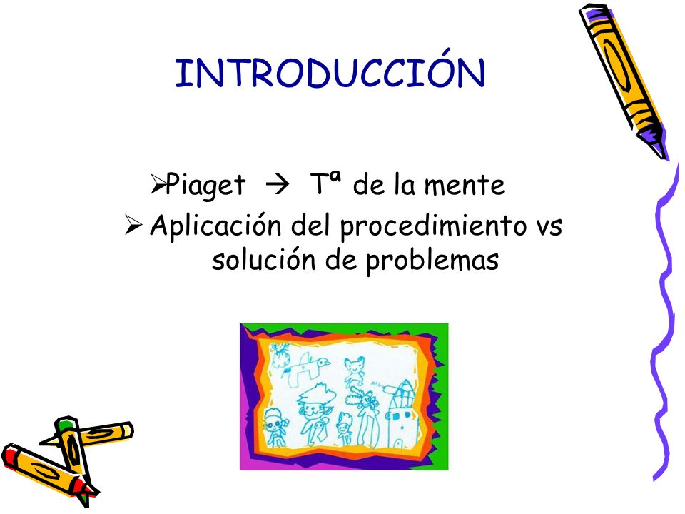 Aplicación del procedimiento vs solución de problemas