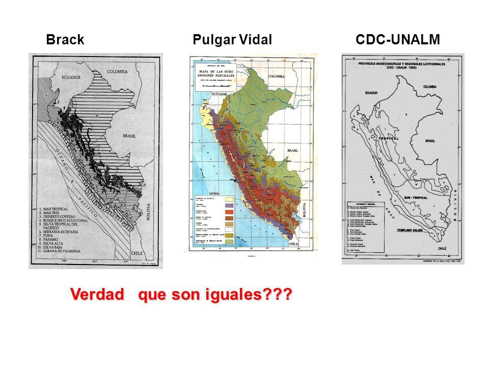 Brack Pulgar Vidal CDC-UNALM Verdad que son iguales