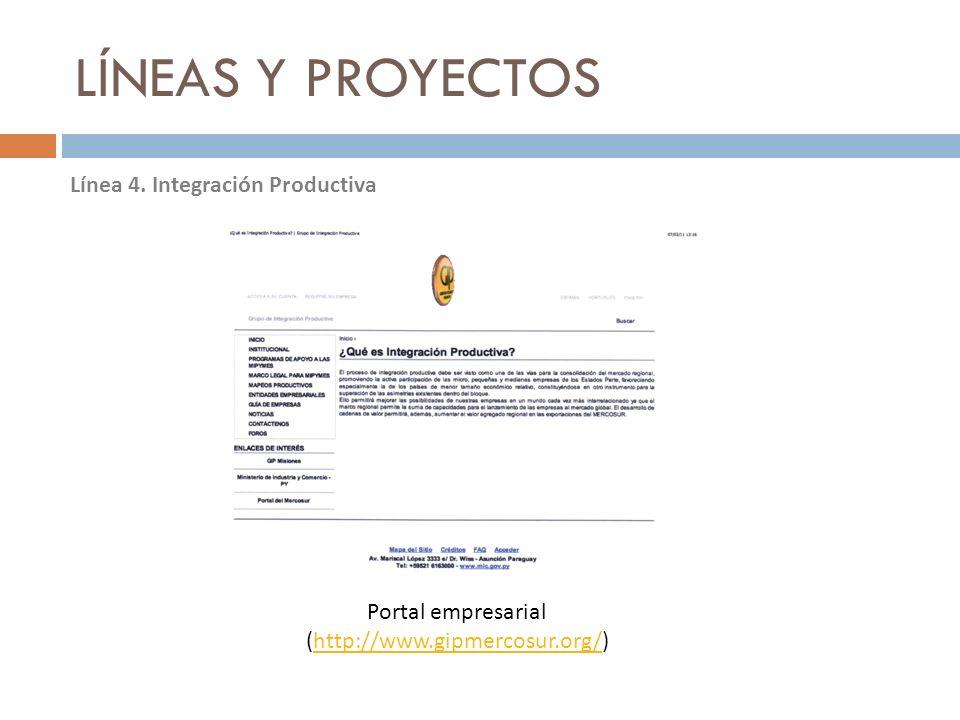 Portal empresarial (http://www.gipmercosur.org/)