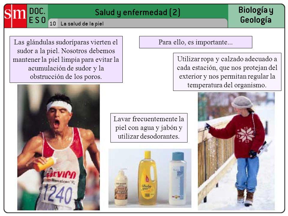 Biología y Geología. 10. La salud de la piel.