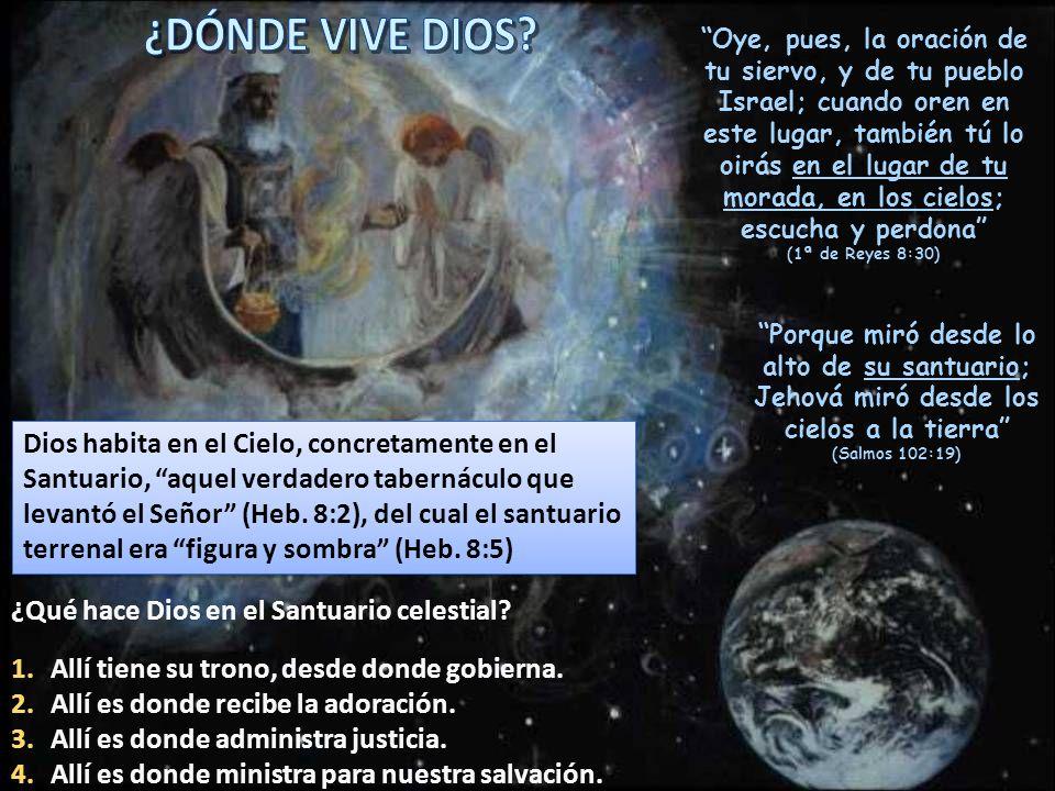 ¿DÓNDE VIVE DIOS
