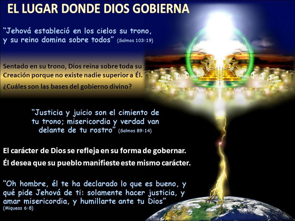 EL LUGAR DONDE DIOS GOBIERNA