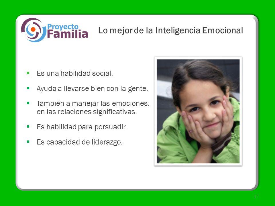 Lo mejor de la Inteligencia Emocional