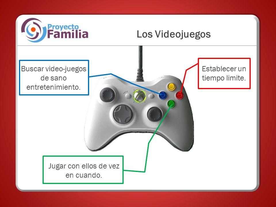 Los Videojuegos Buscar video-juegos de sano entretenimiento.